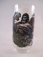 King Kong ~ The Snake ~ 1976 Vintage Drinking Glass ~ Coca-Cola