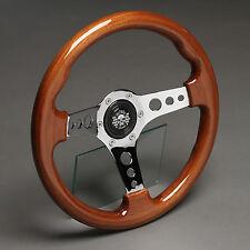 Volante madera volante deportivo 330mm buje Fiat x1/9 ritmo 124 Spider Coupe Abarth 128