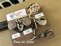 The Blues 64 Strat Prewired Vintage Wiring Kit Fits Fender Stratocaster