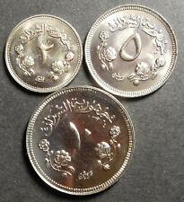 South Sudan set 2+5+10 Ghirsh 1967 AH 1387 Proof Rare!
