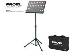 PROEL RSM360M LEGGIO PROFESSIONALE FORATO COMPLETO DI BORSA  RSM 360