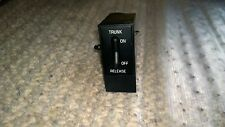 91 92 93 BUICK ROADMASTER LIMITED SDN TRUNK RELEASE SWITCH OEM GUARANTY 15-O-9