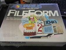 NOS Brand New Mattel Aquarius FileForm Cartridge