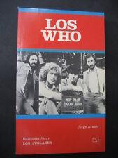 Libro Musica LOS WHO. Año 1987