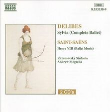 Delibes: Sylvia (complete)/ Saint-Saens: Henry VIII (Ballet Music), New Music