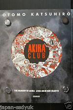 JAPAN Akira club Katsuhiro Otomo ILLUSTRATIONS Art book OOP
