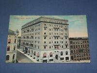 VINTAGE 1914  TENEYCK HOTEL ALBANY  NEW YORK   POSTCARD