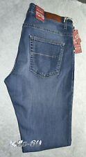 Jeans uomo Taglia 48 HOLIDAY pantalone elasticizzato blu delavè MADE IN ITALY