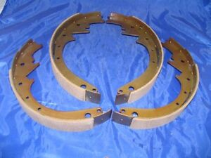Brake Shoes Front 1948-1954 Hudson Wasp Commodore Hornet 48 49 50 51 52 53 54 55
