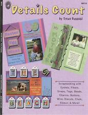 Scrapbook Idea Book - Details Count with Embellishments