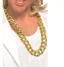 Collana Robusta Pimp Oro - Costume Grosso D' del Vestito Operato Smiffys