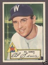 1952 Topps #93 Al Sima