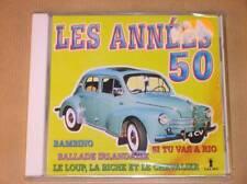 CD / LES ANNEES 50 / 12 TITRES / NEUF SOUS CELLO