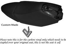 Fibra De Carbono Vinilo Custom Fits Yamaha Xq 125 maxster Real asientos cubre