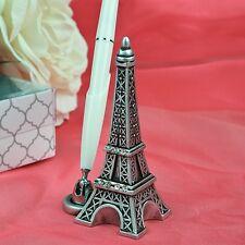 Paris Eiffel Tower Design Pen Set Holder Wedding Reception Accessory Signature