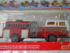 MAJORETTE SUPER MOVERS NEW YORK FIRE FIGHTERS PUMPER FIRE TRUCK 3030 SERIES