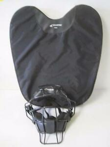 CHAMPRO CP07 UMPIRE OUTSIDE BALL FOAM PROTECTOR W/ FACE MASK BASEBALL/SOFTBALL