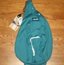 KAVU Rope Sling Tranquil Crossbody Backpack Bag Travel Polyester Retired NWT