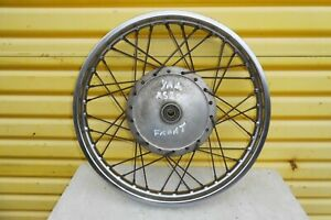YAMAHA RS RS200 1983 MODEL - ORIGINAL FIT FRONT WHEEL GOOD CONDITION