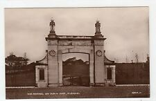 WAR MEMORIAL AND PUBLIC PARK, KILBIRNIE: Ayrshire postcard (C3993).