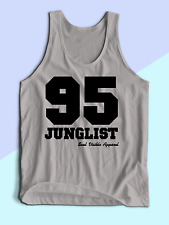 MENS TANK TOP VEST 95 Junglist Drum & Bass