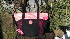 Kipling Rounded Bag Fushia/Black Gym Bag