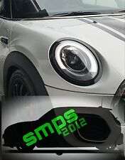 Mini Gen 3 Cooper S JCW F56 F57 headlight covers gloss Black late 2013 - onward