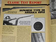 GUNS & AMMO TEST JAPANESE TYPE 38 ARISKA, RUGER MINI-14 22 CONV, STAR 30 PISTOL