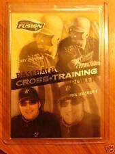 2009 Press Pass Fusion X-Training PHIL HELLMUTH / TONY GWYNN Leaf Razor Poker