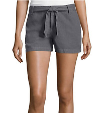a.n.a Tape Belted Twill Shorts Size 6, 10, 16 Msrp $36.00 Castlerock