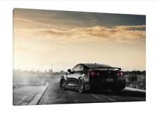 Nissan GTR 30x20 Inch Canvas Wall Art - Framed Picture Poster Print