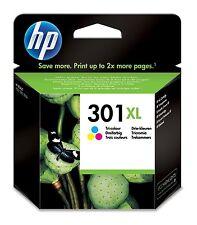 HP 301XL Color Original Cartucho impresión Con Gran cobertura para HP Deskjet