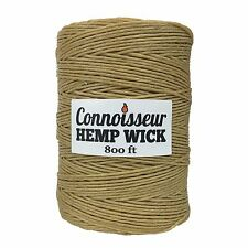 Connoisseur Hemp Wick 800 FT FREE SHIPPING// BEST DEAL