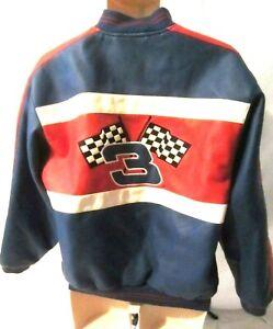 Dale Earnhardt Jr. #3 NASCAR Coat Jacket Youth Chase Authentic Sz 16/18 1376