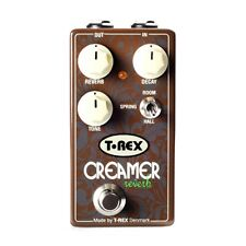 T-Rex Engineering Creamer Reverb Room SPring Hall Guitar Effects Pedal Stompbox