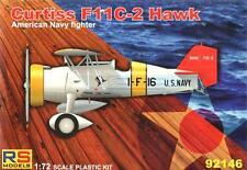 Curtiss F11 C-2 hawk deck fighter (us navy marquage) #146 1/72 rs models