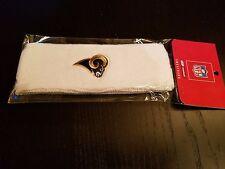 Los Angeles Rams Sweatband Reebok Nfl Licensed Headband-*New*