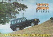 Tata sumo SUV Car (made in India) _ 1997 folleto/brochure