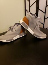21524107916d5 Men s Adidas Gray NMD C1 Trail Chukka Mid Top Brown Leather Sz 8.5