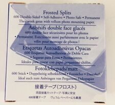 New! Creative Memories Frosted Photo Splits Scrapbook 600 double-sided