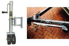 "MaxxTow 70149 11-1/2"" Lift Swing Back Trailer Jack Dual Wheels New Free Shipping"