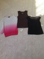 INC Womens Shirts LOT OF 3 NWT MSRP $163 Size M