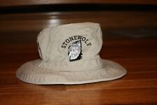 Boys Girls tan khaki bucket hat Size Small Stonewolf Sun Protection