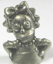 Lisa Clue Simpsons 1st Edition token pewter charm miniature replace