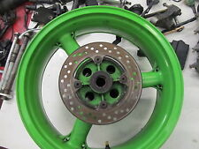 KAWASAKI ZX6R J1 REAR WHEEL DISC AND SPROCKET
