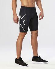 2XU - Mens Compression Shorts (MA3851b-BLK/WHT) Size XL - 60% Off
