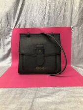 LIMITED NWT SPARTINA 449 SIREN TOP HANDLE CROSSBODY BAG BLACK LEATHER SOLD OUT