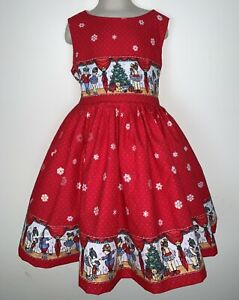 NEW Handmade Daisy Kingdom Nutcracker Sparkle Christmas Dress Custom 12M-10Yrs