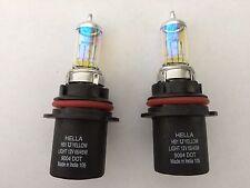 9004/HB1 Hella High Performance Xenon Light Bulbs White Beam Headlight/Fog Lamp