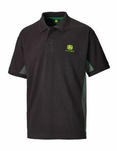 John Deere Men's Polo Shirt M, L, XL, XXL